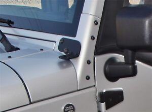 Windshield Hinge Light Bracket Rampage 86692 fits 2007 Jeep Wrangler