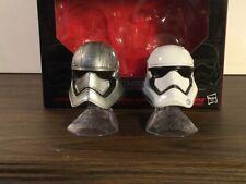 Star Wars #2 Black Series Titanium Helmets Captain Phasma Stormtrooper