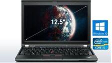 "Lenovo ThinkPad X230 i5-3320M 2,6GHz 8GB 180GB SSD 12,5"" Zoll Windows 10"