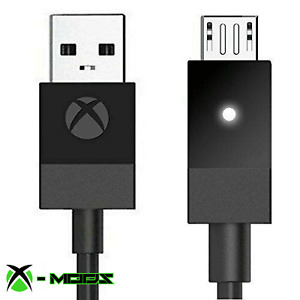 OFFICIAL MICROSOFT XBOX ONE CONTROLLER USB CHARGING CABLE 9ft Play and Charge