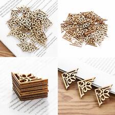 Arts DIY Crafts Wooden Piece Ornament Embellishment Scrapbooking Natural Wood