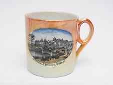 O'Connell Bridge Dublin Ireland Vintage Souvenir Porcelain Cup