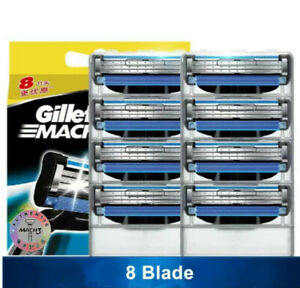 Gillette Mach 3 Men Shaving Razor Blades (MULTIPACK OFFER- No-Box) FAST DESPATCH