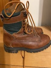 Red Wing Irish Setter Vintage  Brown Leather Lace Ankle Work Sport Boot 8 D