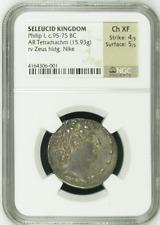 SELEUCID KINGDOM | Philip I, c.95-75 BC | AR Tetradrachm (15.93g) | Ancient Coin