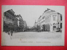 CHALON-sur-SAÔNE  :  Boulevard de la République........Précurseur.