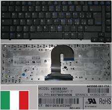 Clavier Qwerty Italien HP 6510B 6515B V070526AK1 445588-061 443922-061 Noir