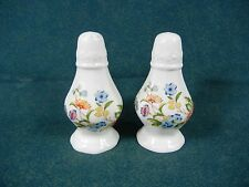 Aynsley Cottage Garden Salt and Pepper Set with Stoppers