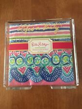 Lilly Pulitzer Lifes A Party Napkin Holder In Catch A Wave NEW
