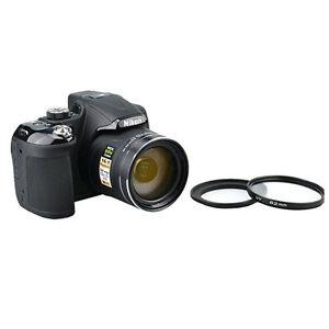 High Resolution Filter KIT For Nikon Coolpix P600 P610 B700 + Adapter Ring HOOD