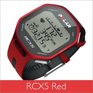 Polar RCX5 Red Sports Training Watch with Heart Rate Monitor