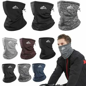 Winter Neck Warmer Cycling Outdoor Running Sports Headwear Face Scarf Men Simple