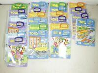 Lot of 22 LeapFrog LeapPad SchoolHouse Books & Cartridges