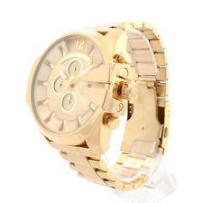 Diesel Reloj para hombres DZ4360 oro tono Mini Daddy