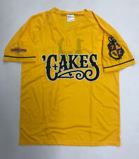 Yellow 2019 New Orleans Baby Cakes SGA Jersey XL New