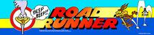 Road Runner Atari Arcade Marquee Header/Backlit Sign
