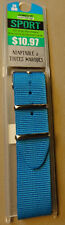 New Mens Sport Nylon Army Turquoise 20mm Watch Band Fits Military, Sport Digital