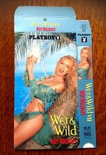 CARRIE WESTCOTT, WET and WILD, original autograph on DVD cover box, rare!