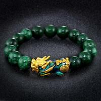 Feng Shui Pixiu Jade Wealth Protection Bracelet Good Lucky Bracelets Jewelry