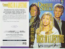 Vhs * Danielle Steel's - Once in a Lifetime * 1994 NBC Home Video Adult Romance!