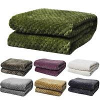 Warm Coral Fleece Blanket Flannel Carpet Small Super Soft Kids Blanket 70*100cm