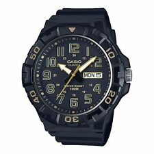 MRW-210H-1A2 Black Casio Men's Watches Resin Band Analog New