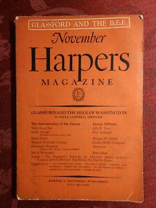 HARPER'S November 1932 Marquis W. Childs Ernest Boyd Dorothy Thomas John R Tunis