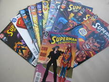15 SUPERMAN THE MAN OF STEEL COMICS-No.45-59 BY DC COMICS-VGC+-VIEW.