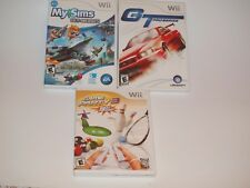 Lot Of 3 Nintendo Wii Games MySims GT Pro Series Game Party 3