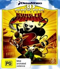 KUNG FU PANDA 2 New Blu-Ray 2D & 3D (2 Disc) JACK BLACK ANGELINA JOLIE ***