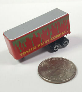 Toxico Paint Company Semi No Truck Trailer Only Galoob Micro Machines Rare Vtg