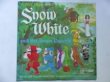 DISNEY Snow white and the seven dwarfs POLLY JAMES BRIAN FAHEY MFP MONO 1110