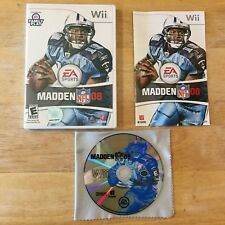 Madden NFL 08 Football Nintendo Wii System Complete Game