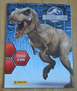 Panini Jurassic World Sticker Leeralbum Album Stickeralbum