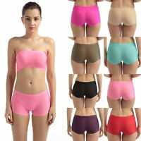 Seamless Women Sexy Panties Underwear Boxer Shorts Hipster Smooth Size S M L