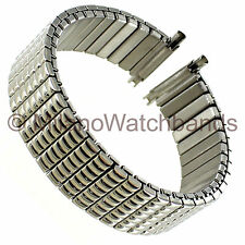 15-19mm Timex Mens Expansion Ultra Flex Stainless Watch Band TX360W LONG