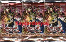YUGIOH  3 X PHARAOH'S SERVANT BOOSTER PACKS LEGENDARY COLLECTION LC01