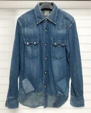orSlow Denim shirt Size M Men's Tops Made in Japan Long Sleeves Outer