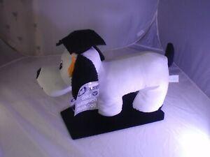 "Signature Write-On Stuffed Animal Plush Graduate Dog Keepsake Gift 13"" NEW w pen"