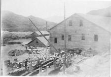 "Photo 1907 Unsan North Korea ""Taracol Gold Mine Cyanide Plant"""