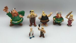 Asterix Plastoy/M.D. Toys/Bullyland Vintage Figure Lot of 7 Vitalstatistix Imped