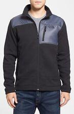NWT NORTH FACE Men Gordon Anza Sweater Knit Full Zip Fleece Jacket Size XL Black