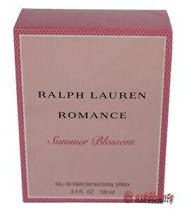 Ralph Lauren Romance Summer Blossom Edp Spray 3.4oz For Women New In Box