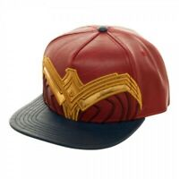 DC Comics Wonder Woman Suit Up Hat Snapback Baseball Cap One Size Fits Most