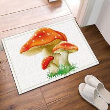 Kitchen Bath Bathroom Shower Floor Home Door Mat Rug Non-Slip mushroom