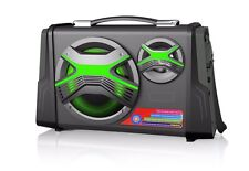 ALTAVOZ PORTATIL ALTAVOCES CON BLUETOOTH USB SD RADIO FM AUX MICROFONO KARAOKE