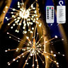 Firework LED Copper Wire Strip String Fairy Lights Wedding Party Xmas Decoration