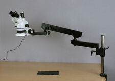 AmScope 3.5X-225X Simul-Focal 144-LED Articulating Zoom Stereo Microscope + 5MP