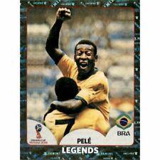 Panini WM 2018 680 Pele Legends World Cup WC 18 Wappen Glitzer Foil