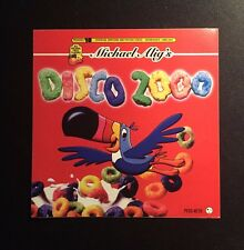 Rare Vintage 1990s NYC Club Flyer: DISCO 2000 @ LIMELIGHT NYC Sticker